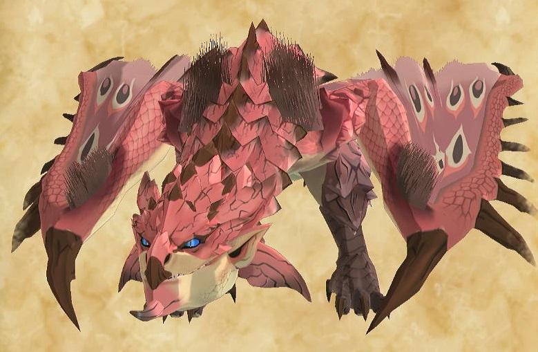 モンハンストーリーズ2 リオレイア亜種