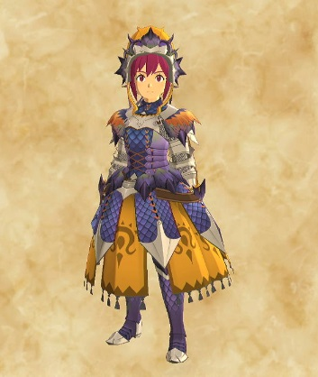 紫毒姫リオレイア装備